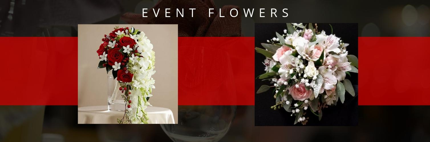<h2 style='color:#FFFFFF !important;                                              '></h2>                                             <span class='slideDesc'>Elegant Flowers for Weddings & Events is Our Specialty</span>