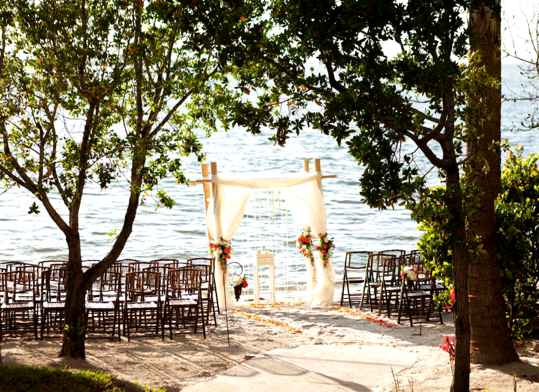 Water Front Beach Wedding