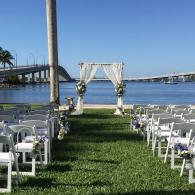The majority of our business includes water-front weddings, creating the ideal atmosphere utilizing nature's beauty for your ceremony!