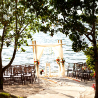We specialize in weddings by the water. For more information on pricing and dates, contact us directly!